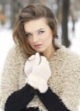 Warm clothes concept Royalty Free Stock Photos