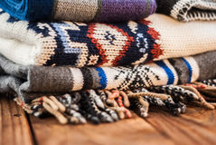 A warm clothes Royalty Free Stock Photo