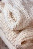 Warm clothes Royalty Free Stock Photos