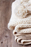 Warm clothes Stock Image