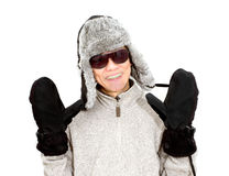 warm clothing  Royalty Free Stock Image