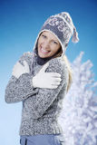Warm clothing Royalty Free Stock Photo
