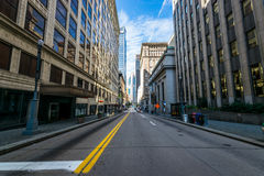 Warm Cloudy day in Downtown Pittsburgh, Pennsylvania Royalty Free Stock Photo