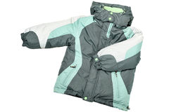Warm coat royalty free stock photography