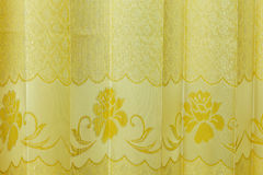 Warm Color Curtains. Royalty Free Stock Images