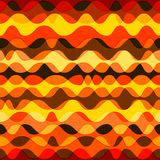 Warm color seamless pattern Royalty Free Stock Image