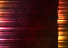 Warm color triangle and square bar abstract background Stock Image