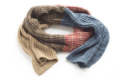 Warm colored scarf Royalty Free Stock Image
