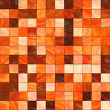 Warm colored tiles. Warm colored ceramic background, tiles seamless as a pattern Stock Photography