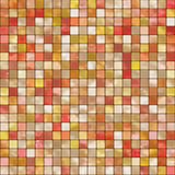 Warm colored tiles. Ceramic tiles in warm colors, seamlessly tillable Stock Image