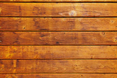 Warm colored wooden board Royalty Free Stock Photos