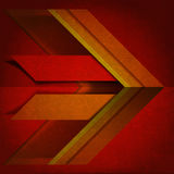 Warm Colors - Velvet Abstract Background Royalty Free Stock Photography