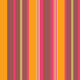 Warm colour striped wallpaper Stock Image