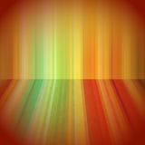 Warm colours 3d background vector illustration