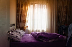 Warm And Cozy Bedroom Royalty Free Stock Photos