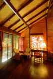 Warm and cozy cabin Royalty Free Stock Photos