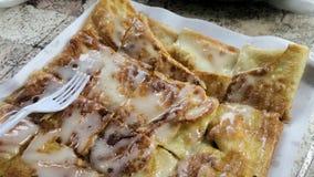 Warm Crunchy crispy roti Royalty Free Stock Image
