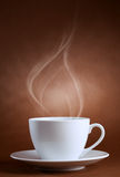 Warm cup of ciffee Stock Image