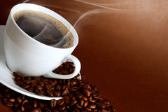 Warm cup of ciffee Stock Photography