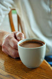 Warm cup of cocoa Royalty Free Stock Photos