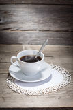 Warm cup of coffee Royalty Free Stock Images
