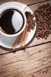 Warm cup of coffee Royalty Free Stock Photography