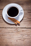 Warm cup of coffee Stock Photography