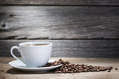 Warm Cup Of Coffee Royalty Free Stock Image