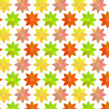 Warm Flower Pattern Royalty Free Stock Image