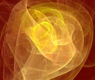 Warm fractal royalty free stock images
