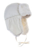Warm fur cap Royalty Free Stock Photography