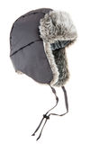 Warm fur cap Stock Photography