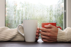 Warm gentle touch Stock Photos