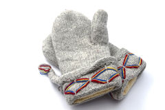 Warm gloves Stock Photo