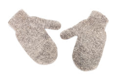 Warm gloves made of wool Stock Photography