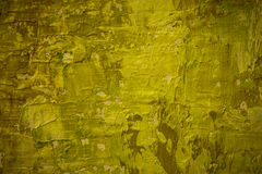 Warm Green Painted Background Royalty Free Stock Photography