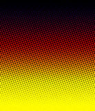 Warm halftone Stock Images
