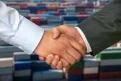 Warm handshake Royalty Free Stock Photography