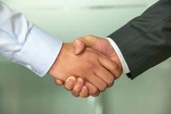 Warm handshake Royalty Free Stock Images