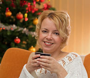 Warm holidays drink Stock Photography
