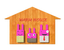 Warm home Royalty Free Stock Image
