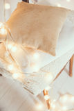 Warm home decor Royalty Free Stock Photos