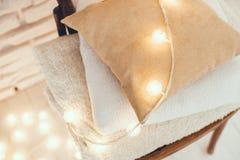 Warm home decor Stock Photography