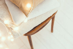 Warm home decor Royalty Free Stock Photography