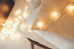 Warm home decor Royalty Free Stock Images