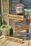 Warm Home Signs Royalty Free Stock Photo