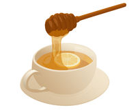 Warm honey Stock Image