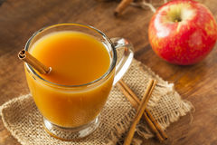 Warm Hot Apple Cider Stock Photo