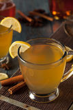 Warm Hot Toddy with Lemon Royalty Free Stock Photos