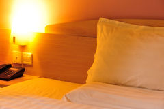 Warm hotel room Stock Photos